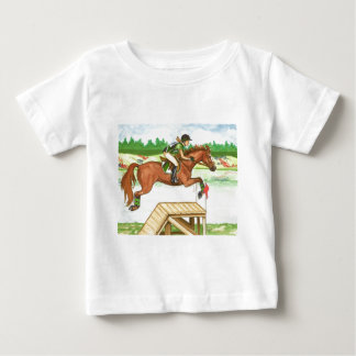 XC Bright Chestnut by the lake, Eventing Tee Shirt