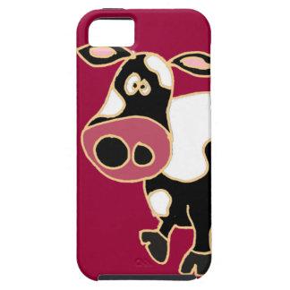 XX- Funny Cow Cartoon iPhone 5 Case