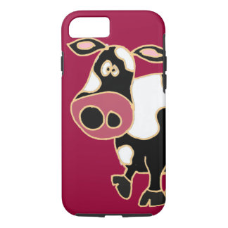 XX- Funny Cow Cartoon iPhone 7 Case