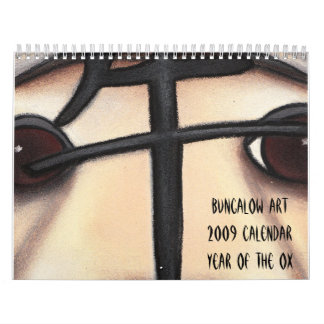 Year of the Ox, Bungalow Art2009 CalendarYear o... Wall Calendars