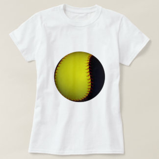 Yellow and Black Baseball / Softball Tshirt