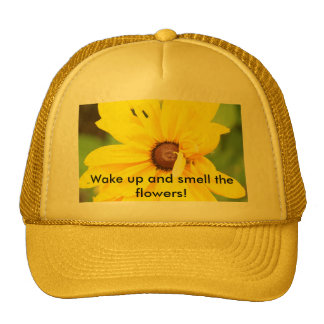 Yellow Daisy Hat
