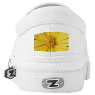 Yellow Daisy Slip-Ons
