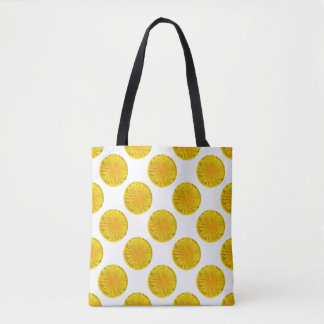Yellow Dandelion Flower Photo Dot 0560 Tote Bag