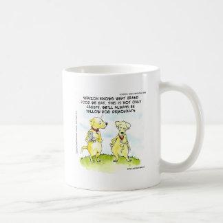 Yellow Dog Democrats Funny Basic White Mug