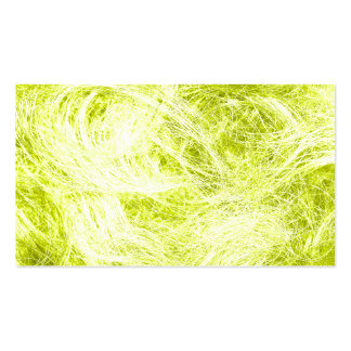 Yellow Fur Pack Of Standard Business Cards