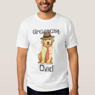 Yellow Lab Dad T Shirts