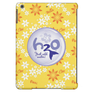 Yellow Name Pattern iPad Air Cover