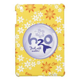 Yellow Name Pattern iPad Mini Case