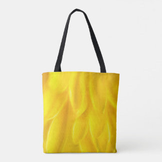 Yellow Petals All-Over-Print Tote Bag, Medium Tote Bag