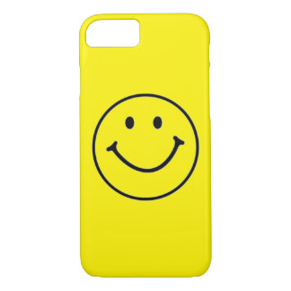 Yellow Smiley Face (Customizable) iPhone 7 Case