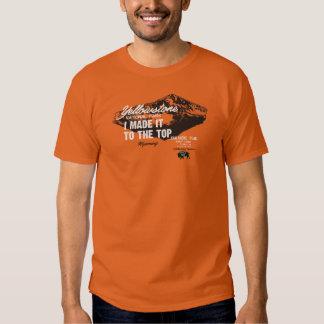 Yellowstone Nat Park Avalanche Peak Wyoming IMITTT T-shirts