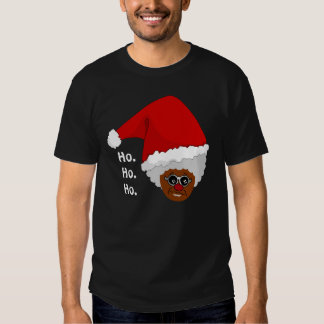 Yes, Virginia, There is a Black Santa Claus Tee Shirt