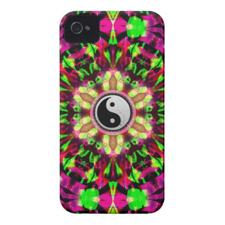 Yin Yang Psychedelic Star iPhone4 Case-Mate ID™ iPhone 4 Cover