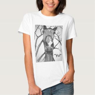 Yo! Horse Art T-shirt