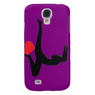 Yoga Forearm Stand - Purple iPhone Case