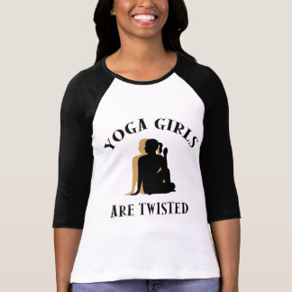 Yoga Girls Are Twisted T-Shirt