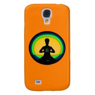 Yoga Meditation - Orange iPhone Case