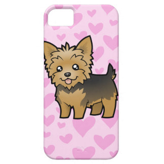 Yorkshire Terrier Love (short hair no bow) iPhone 5 Case