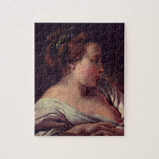 Young Girl Jeune fille by Francois Boucher Jigsaw Puzzles