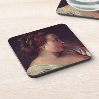 Young Girl Jeune fille Drink Coasters