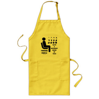 Younger People Have A Different Sense Of Time Long Apron