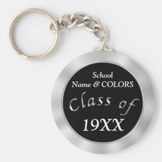 Your COLORS and TEXT Cheap Class Reunion Gifts Basic Round Button Key Ring