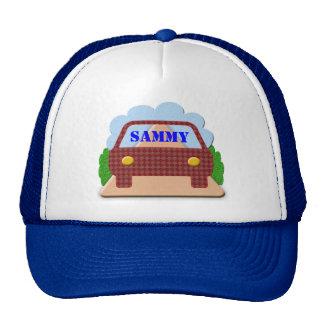Your name in Car window-hat Cap