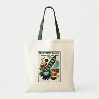Your Victory Garden Budget Tote Bag