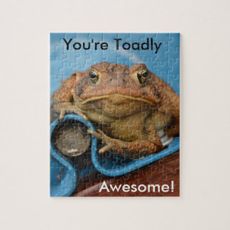 You're Toadly Awesome! Jigsaw Puzzles