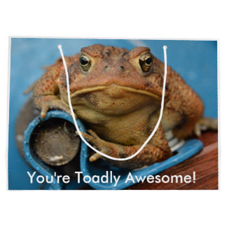 You're Toadly Awesome! Large Gift Bag