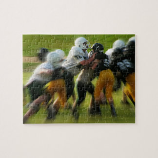 Youth Football Game Jigsaw Puzzle