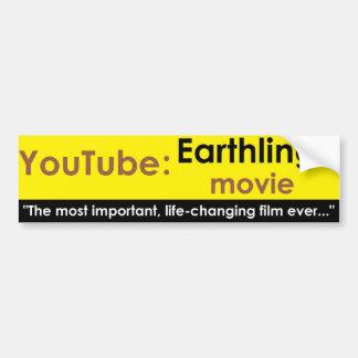 Youtube: Earthlings movie Bumper Sticker