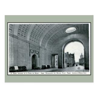 Ypres Menin Gate Memorial for British interior Postcard