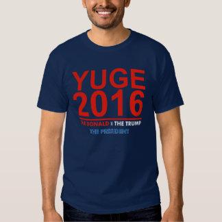 YUGE 2016 - Donald Trump for President T-Shirt