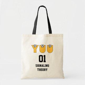 Yuu in Soccer Gold Budget Tote Bag