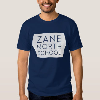 Zane North Hexagon Mens Navy Tee