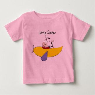 Zebra Little Sister Infant T-Shirt