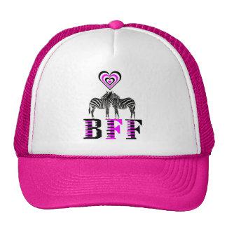 Zebra Love - BFF Cap