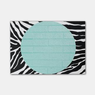 Zebra Print Pretty Little Post-It Notes Post-it® Notes