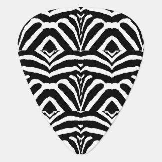 ZEBRA STRIPES TOO! (a Black & White design) ~ Plectrum