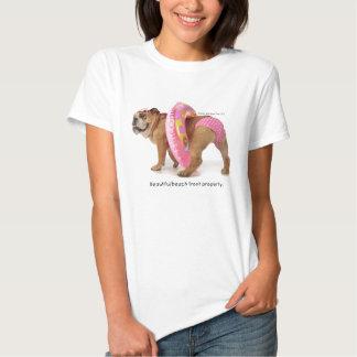 Zelda Pink Polk- Dot Bikini T-Shirt