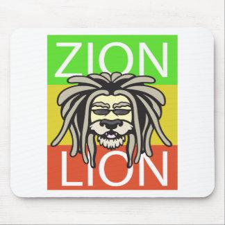 ZION LION MOUSE PAD