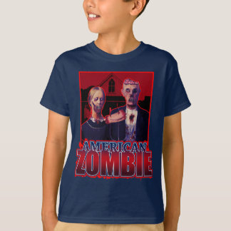 Zombie American Gothic T-shirt
