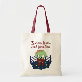 Zombie Babies Need Love Tote Budget Tote Bag