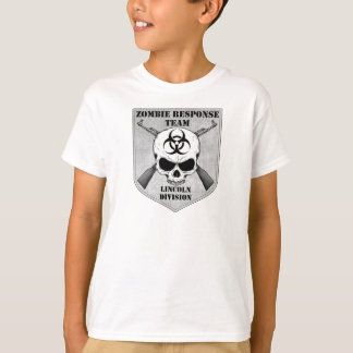 Zombie Response Team: Lincoln Division T Shirts