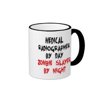 Zombie Slayer Medical Radiographer Ringer Mug