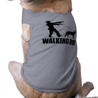 (Zombies) Walking Dog Sleeveless Dog Shirt