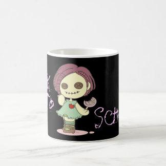 Zombina back to school mug